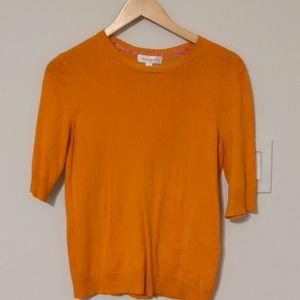 Isaac Mizrahi for Target Orange Crew Sweater